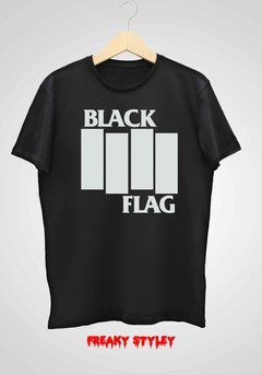REMERA BLACK FLAG 1
