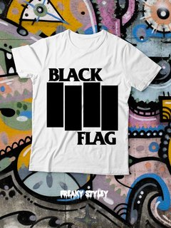 REMERA BLACK FLAG 1 en internet