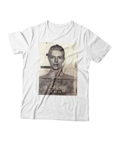 REMERA DAVID BOWIE ARRESTADO - comprar online