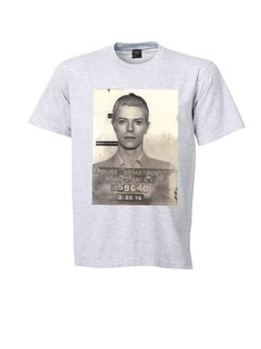 REMERA DAVID BOWIE ARRESTADO