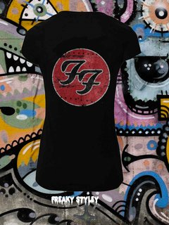 REMERA FOO FIGHTERS 3 - comprar online