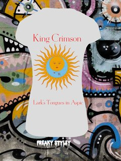 REMERA KING CRIMSON LARK'S TONGUES IN ASPIC - tienda online