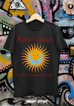 REMERA KING CRIMSON LARK'S TONGUES IN ASPIC - comprar online