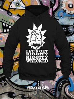 Buzo Rick and Morty Let's Get Riggity Riggity Wrecked - comprar online