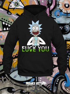 Buzo Rick and Morty Love You F.U. You - comprar online