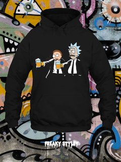 BUZO RICK AND MORTY PULP FICTION - comprar online