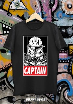 REMERA STAR WARS CAPTAIN