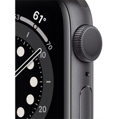 Apple Watch Series 6 44mm M00h3ll A Space Gray - comprar online