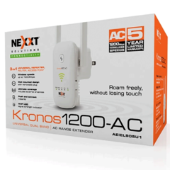 Repetidor Access Point Nexxt Kronos Doble Banda 1200 Ac - comprar online