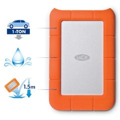 Disco Externo Lacie Rugged Mini 4 Tb Usb 3.0 Portatil - tienda online