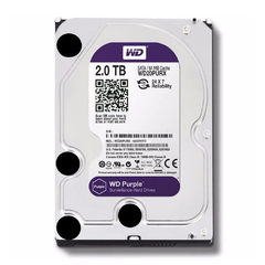 Disco Rigido Interno 2 Tb Wd Purple Seguridad Dvr Sata 2tb 3.5