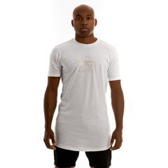 T-SHIRT SHINE WHITE