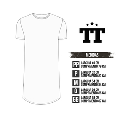 Imagem do T-SHIRT SHINE WHITE