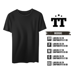 T-SHIRT TRACE BLACK na internet