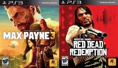 PS3 - MAX PAYNE 3 + RED DEAD REDEMPTION