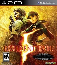 PS3 - RESIDENT EVIL 5: GOLD EDITION