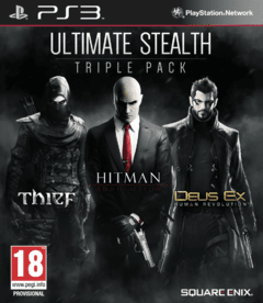PS3 - ULTIMATE STEALTH TRIPLE PACK (INCLUYE: THIEF, DEUS EX y HITMAN)