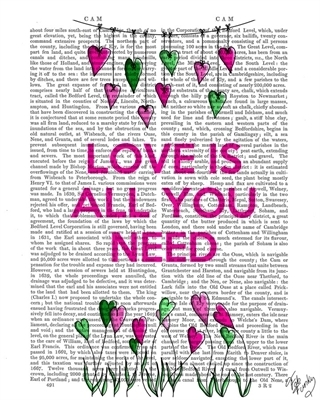 Love Is All You Need Illustration - Fab Funky na internet