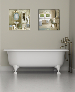 2 Gravuras French Sink e French Bath - Carol Robinson