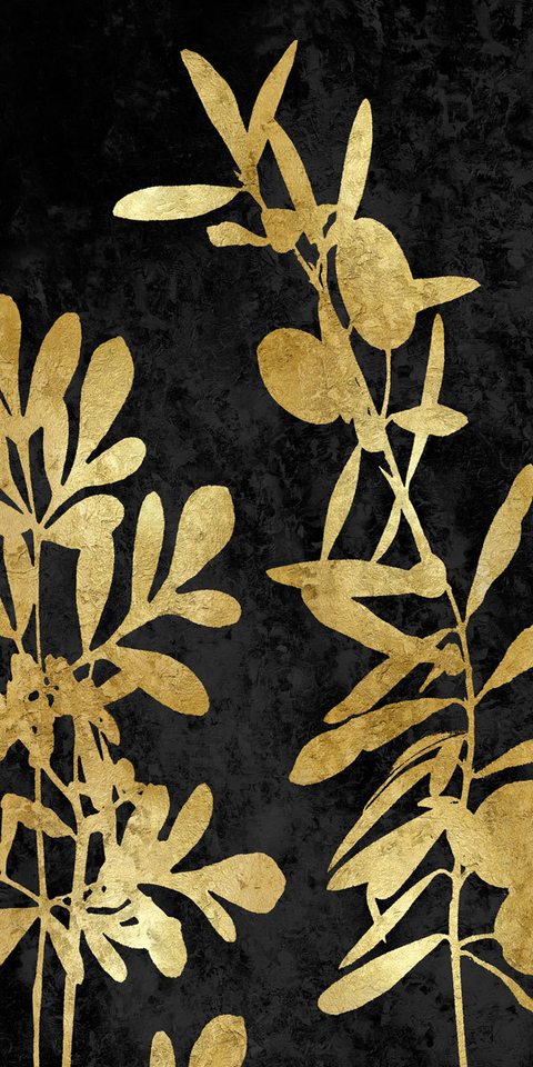 Nature Panel Gold on Black III - Danielle Carson - comprar online