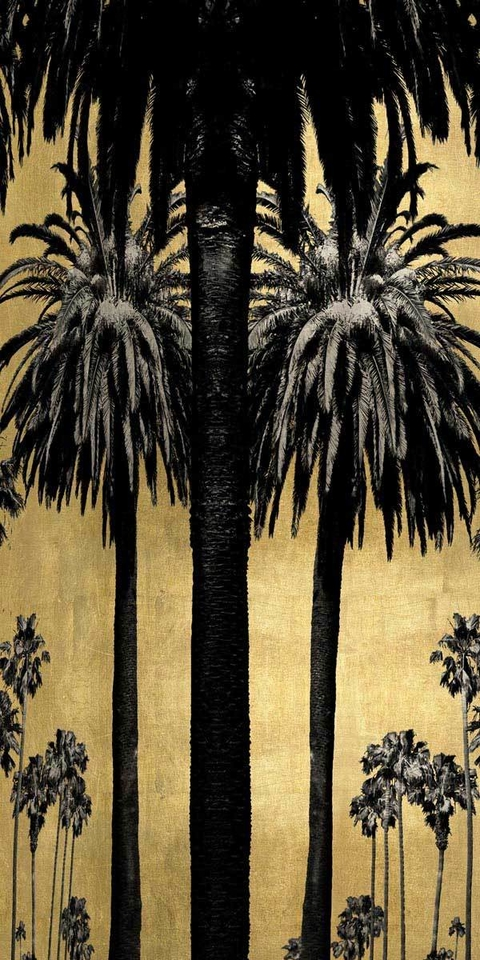 Palms with Gold I - Kate Bennett
