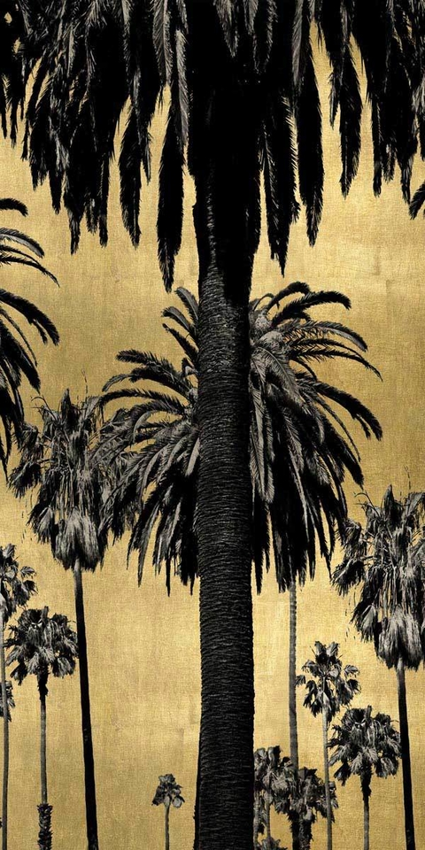 Palms with Gold II - Kate Bennett