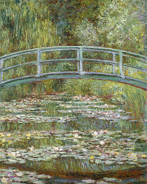 Claude Monet - Pond of Water Lilies