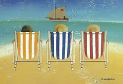 Three Deck Chair - Wiscombe