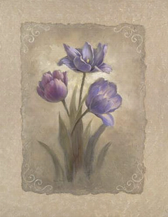 Tulip Scroll - Vivian Flasch