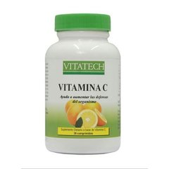 Vitamina C - VitaTech - 30 caps