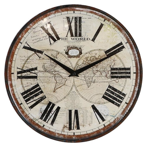 RELOJ WORLD MAP