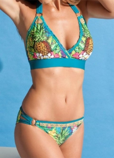 Bikini Estampada Pineapple - 1309