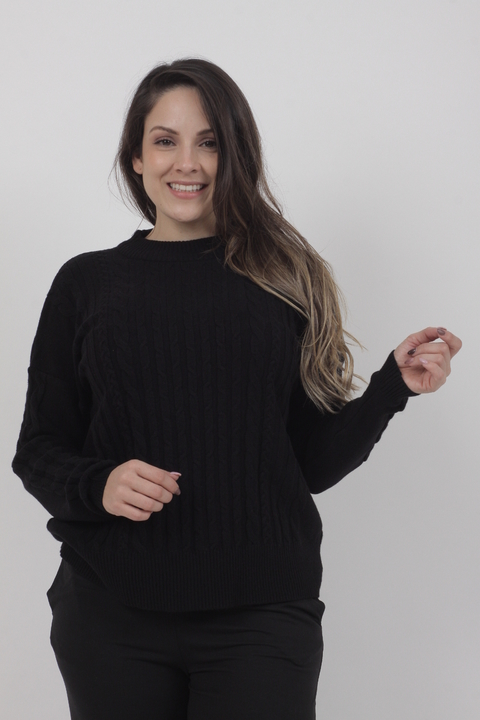 Sweater Bucknal Negro en internet