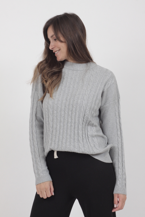Sweater Bucknal Gris en internet