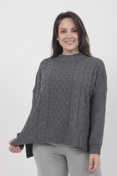 Sweater Nefret Gris