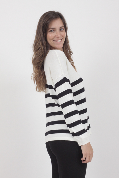 Sweater Jazmin Natural - Wassarette