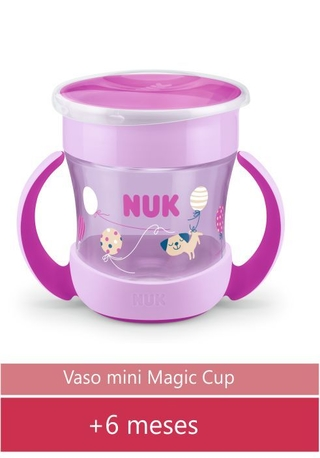 Vaso Evolution Mini Magic Cup Rosa - N0751278B
