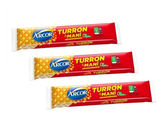 Turron De Mani Arcor - X 15 U - Lollipop