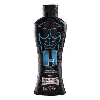 H ICE SABONETE HIGIENE MASCULINA 130ML - HOT FLOWERS - HC478 100536