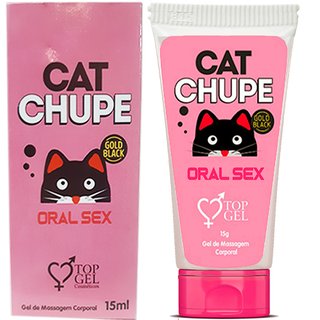 CAT CHUPE EXCITANTE ESQUENTA ORAL 15 ML - TOP GEL