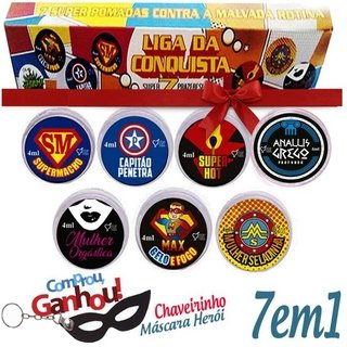 Imagem do KIT LIGA DA CONQUISTA (HEROIS DO SEXO ) - TOP GEL
