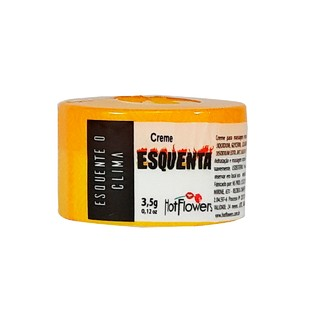 ESQUENTA CREME FUNCIONAL 3,5G HOT FLOWERS - HC578 100824