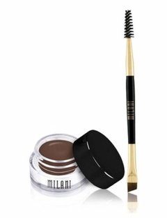 Gel para Sombrancelhas Milani Stay Put Brow Color Dark Brown- 05