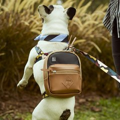 DOG BACKPACK LANDSCAPE BLACK
