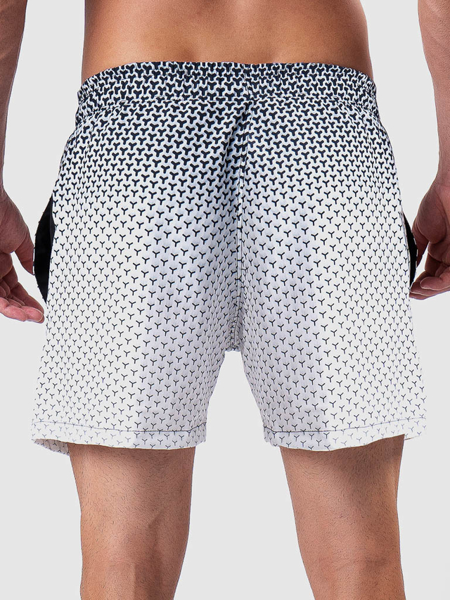 Shorts Praia Black White MVCK-05