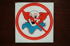 no bozo sticker
