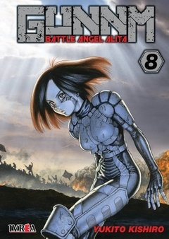 GUNNM: BATTLE ANGEL ALITA 08