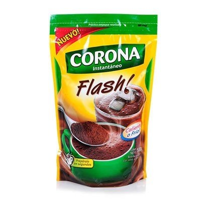 Chocolate Instantáneo Flash Doy Pack X 500 gr corona COD 13846