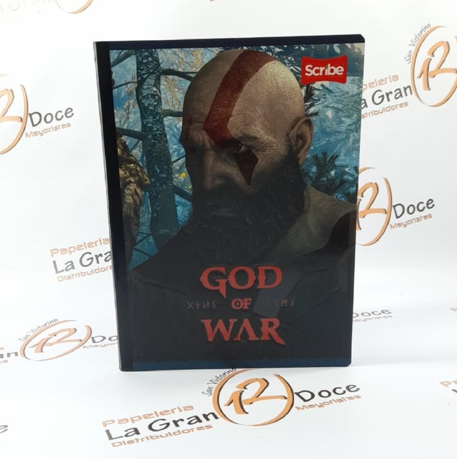 CUADERNO GOD  OF WAR - comprar online