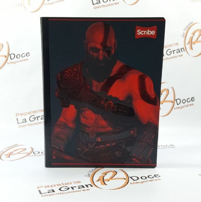 CUADERNO GOD  OF WAR en internet